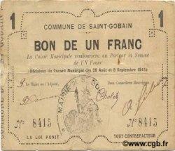 1 Franc FRANCE régionalisme et divers  1915 JP.02-2015 TTB