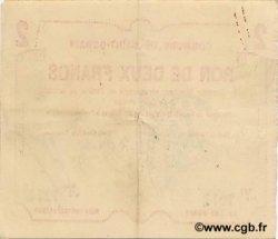 2 Francs FRANCE régionalisme et divers  1915 JP.02-2016 TTB+