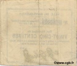 25 Centimes FRANCE régionalisme et divers SAINT QUENTIN 1914 JP.02-2032 TB+