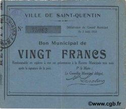 20 francs FRANCE régionalisme et divers  1914 JP.02-2036 TTB+