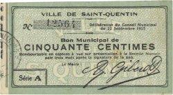 50 Centimes FRANCE régionalisme et divers  1915 JP.02-2040 TTB