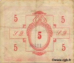 5 Francs FRANCE régionalisme et divers SAINT QUENTIN 1916 JP.02-2048 TTB