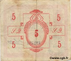 5 Francs FRANCE régionalisme et divers SAINT QUENTIN 1916 JP.02-2048 TB+