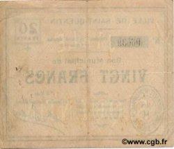 20 francs FRANCE régionalisme et divers  1916 JP.02-2050 TTB