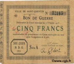 5 Francs FRANCE régionalisme et divers  1915 JP.02-2053 TTB