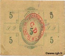 5 Francs FRANCE régionalisme et divers SAINT QUENTIN 1915 JP.02-2053 TTB