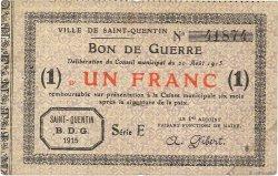 1 Franc FRANCE régionalisme et divers  1915 JP.02-2073 TB