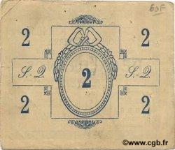 2 Francs FRANCE régionalisme et divers SAINT QUENTIN 1915 JP.02-2074 TTB
