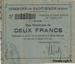 2 Francs FRANCE régionalisme et divers  1914 JP.02-2101 TTB+