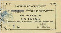 1 Franc FRANCE régionalisme et divers  1914 JP.02-2109 SPL