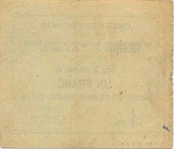 1 Franc FRANCE régionalisme et divers SEBONCOURT 1915 JP.02-2120 SUP
