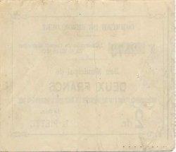 2 Francs FRANCE régionalisme et divers  1915 JP.02-2121 SPL