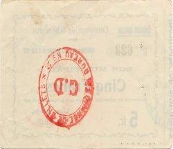 5 Francs FRANCE régionalisme et divers  1915 JP.02-2125 TTB+