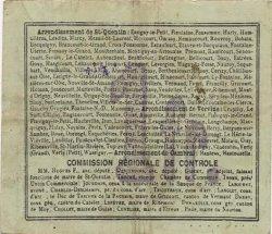 1 Franc FRANCE régionalisme et divers SERAIN 1916 JP.02-2169.SQG TTB
