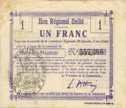 1 Franc FRANCE régionalisme et divers  1916 JP.02-2174.BRU TTB+