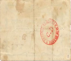 2,50 Francs FRANCE régionalisme et divers SINCENY 1915 JP.02-2183 TTB