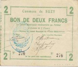 2 Francs FRANCE régionalisme et divers SUZY 1915 JP.02-2216 TTB