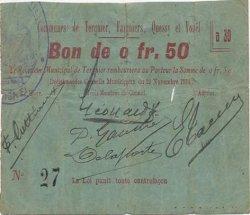 50 Centimes FRANCE régionalisme et divers  1914 JP.02-2231 TB+