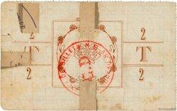 2 Francs FRANCE régionalisme et divers Tupigny 1915 JP.02-2314 B+