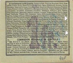 1 Franc FRANCE régionalisme et divers TUPIGNY 1916 JP.02-2317.SQG TTB
