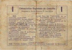 1 Franc FRANCE régionalisme et divers Urvillers 1916 JP.02-2319.BRU pr.TB