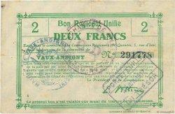 2 Francs FRANCE régionalisme et divers  1916 JP.02-2356.BRU TTB