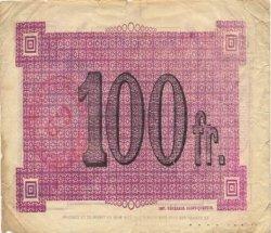 100 Francs FRANCE régionalisme et divers VAUX ANDIGNY 1916 JP.02-2357.SQG TB+
