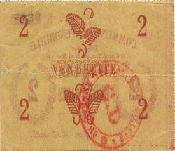 2 Francs FRANCE régionalisme et divers VENDHUILE 1915 JP.02-2372 TTB