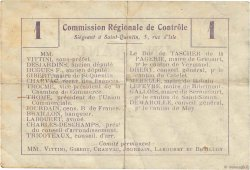1 Franc FRANCE régionalisme et divers  1916 JP.02-2378.BRU TB