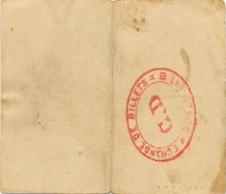 50 Centimes FRANCE régionalisme et divers VILLEQUIER AUMONT 1915 JP.02-2397 TTB