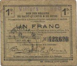 1 Franc FRANCE régionalisme et divers  1916 JP.02-2405.SQG B+