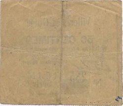 50 Centimes FRANCE régionalisme et divers VILLERS LES GUISE 1915 JP.02-2417 TB