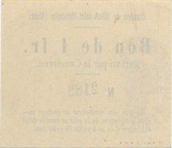 1 Franc FRANCE régionalisme et divers  1916 JP.02-2426 TTB
