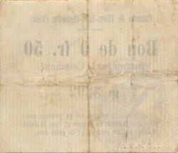 50 Centimes FRANCE régionalisme et divers VILLERS SAINT CHRISTOPHE 1916 JP.02-2439 TTB