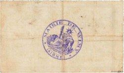 50 Centimes FRANCE régionalisme et divers WIMY 1915 JP.02-2464 TTB