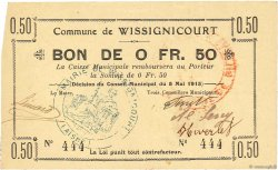 50 Centimes FRANCE régionalisme et divers  1915 JP.02-2466 SUP