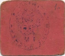 5 Centimes FRANCE régionalisme et divers ACHERY 1916 JP.02-2494 TTB