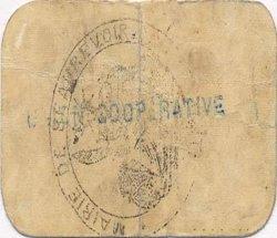 5 Centimes FRANCE régionalisme et divers BEAUREVOIR 1916 JP.02-2508 TTB