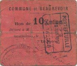 10 Centimes FRANCE régionalisme et divers BEAUREVOIR 1916 JP.02-2510 TB