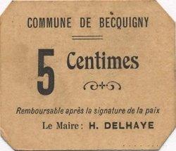 5 Centimes FRANCE régionalisme et divers  1916 JP.02-2512 NEUF