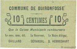 10 Centimes FRANCE régionalisme et divers BUIRONFOSSE 1916 JP.02-2534 NEUF