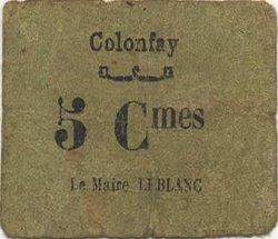 5 Centimes FRANCE régionalisme et divers  1916 JP.02-2544 TB
