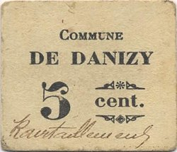 5 Centimes FRANCE régionalisme et divers  1916 JP.02-2556 TTB