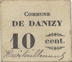 10 Centimes FRANCE régionalisme et divers DANIZY 1916 JP.02-2557 TTB