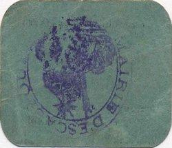 5 Centimes FRANCE régionalisme et divers  1916 JP.02-2566 TTB