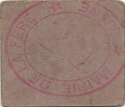 10 Centimes FRANCE régionalisme et divers FERE (LA) 1916 JP.02-2583 TTB+