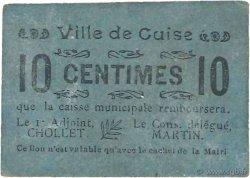 10 Centimes FRANCE régionalisme et divers GUISE 1916 JP.02-2617 TTB