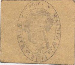 5 Centimes FRANCE régionalisme et divers MARLE 1915 JP.02-2647 TTB+