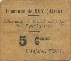 5 Centimes FRANCE régionalisme et divers  1915 JP.02-2667 TTB