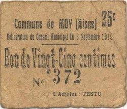5 Centimes FRANCE régionalisme et divers MOY 1915 JP.02-2670 TB